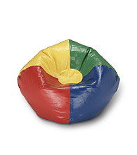 Ace Bayou Multicolor Primary Bean Bag Chair