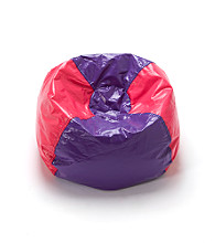 Ace Bayou Shiny Bean Bag Chair - Pink/Purple