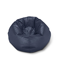 Ace Bayou Meduim Matte Bean Bag Chair - Navy