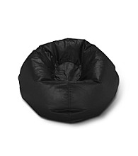 Ace Bayou Large Matte Bean Bag Chair - Black
