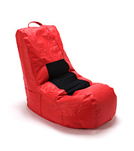 Ace Bayou Lycra® Video Bean Bag Chair - Red