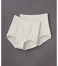 Bali® Light Control Tailored Brief with Tummy Panel 2-Pack