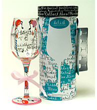 Delish™ Stemware - Happy Birthday
