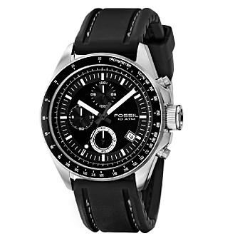 Fossil® Men's Chronograph Watch - Black
