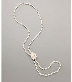 Studio Works® Pearl Long Necklace - White