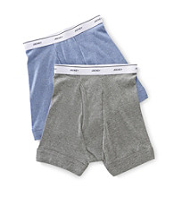 Jockey Boys' Blue/Grey 2-pk. Boxer Briefs