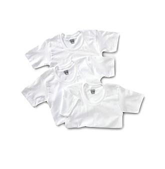 Jockey® Boys' White 3-pk. T-Shirts