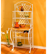 Holly & Martin™ Country Trellis Baker's Rack