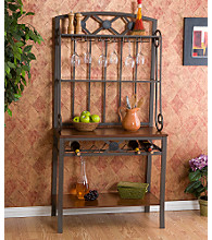 Holly & Martin™ Rockford Baker's Rack with Wine Storage