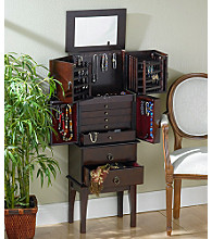 Holly & Martin™ Isabella Cherry Jewelry Armoire