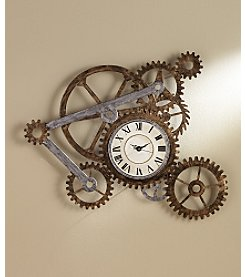 Southern Enterprises Zion Wall Art w/Clock