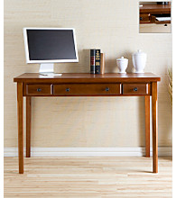 Holly & Martin™ Jackson Classic Desk - Medium Mahogany Finish