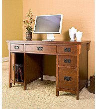 Holly & Martin™ Landon Computer Desk - Mahogany Finish