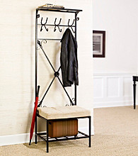 Holly & Martin™ Leon Entryway Storage Rack/Bench Seat