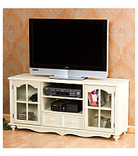 Holly & Martin™ Antique White Roosevelt Large TV Console