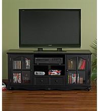Holly & Martin™ Roosevelt Large TV Console - Antique Black