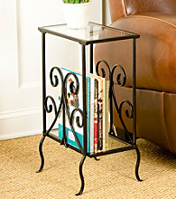 Holly & Martin™ Kilpatrick Decorative Metal Magazine Table