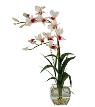 Nearly Natural® Dendrobium Silk Flower Arrangement