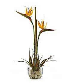 Nearly Natural® Birds of Paradise Silk Flower Arrangement