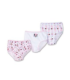 Disney® Girls' 2T & 4T Pink Multi 3-pk. Minnie Mouse Panties