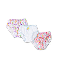 Disney® Girls' 2T & 4T Pink/Purple/Blue 3-pk. Tinkerbell Panties