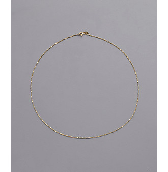 24K Gold-Over-Sterling Silver Twist Chain