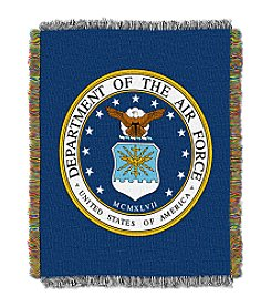 United States Military Air Force Throw