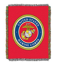 United States Military Marine Corps Throw