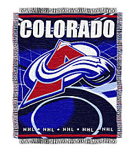 Colorado Avalanche Logo Throw
