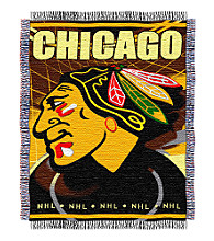 Chicago Blackhawks Logo Throw