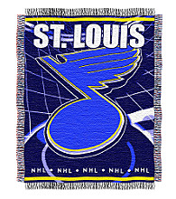 St. Louis Blues Logo Throw