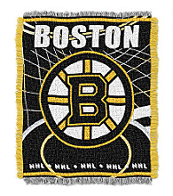 Boston Bruins Logo Throw