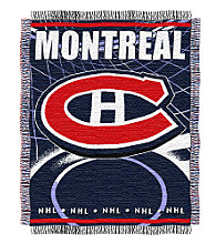Montreal Canadians Logo Throw