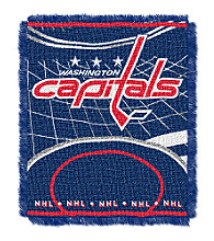 Washington Capitals Logo Throw