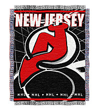 New Jersey Devils Logo Throw