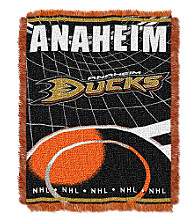 Anaheim Ducks Logo Throw