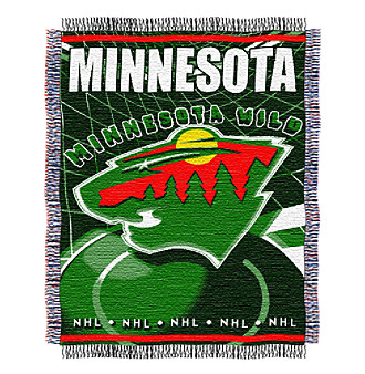 Minnesota Wild Logo Throw