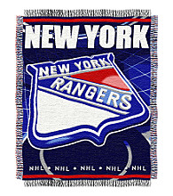 New York Rangers Logo Throw