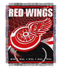 Detroit Red Wings Logo Throw