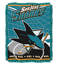 San Jose Sharks Logo Throw