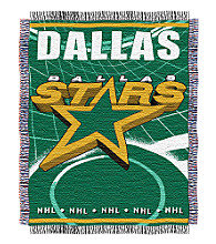 Dallas Stars Logo Throw