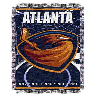 Atlanta Thrashers Logo Throw