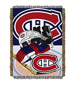 Montreal Canadiens Home Ice Advantage Throw