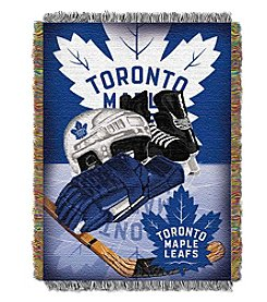 Toronto Maple Leafs Home Ice Advantage Throw