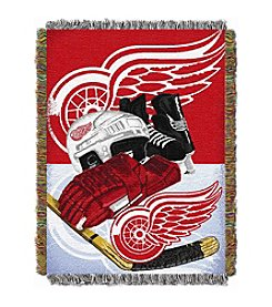 NHL® Detroit Red Wings Home Ice Advantage Throw