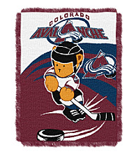 Colorado Avalanche Baby Teddy Bear Throw