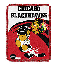 Chicago Blackhawks Baby Teddy Bear Throw