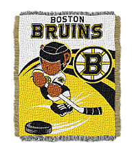 Boston Bruins Baby Teddy Bear Throw