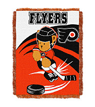 Philadelphia Flyers Baby Teddy Bear Throw