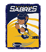 Buffalo Sabres Baby Teddy Bear Throw